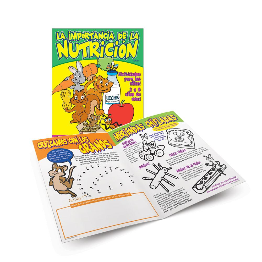 Nuts About Nutrition (Ages 2-6) Spanish