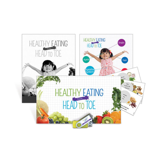 Healthy Eating from Head to Toe CACFP Training Jump Drive