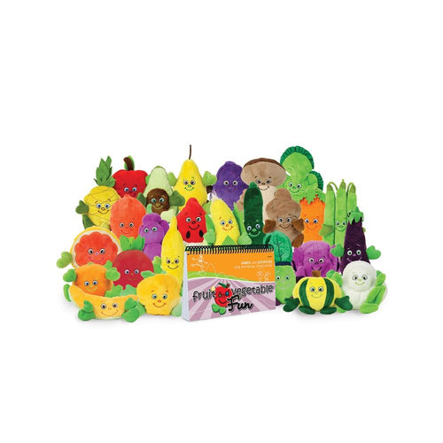 Fruit and Vegetable Fun Book with 24 Garden Heroes®