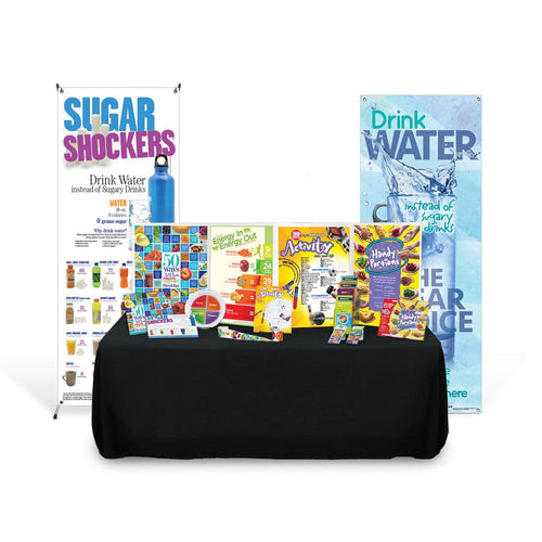Food and Fitness Health Fair Kit