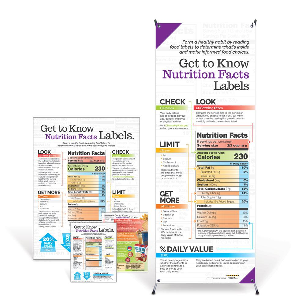 Nutrition Facts Labels Kit