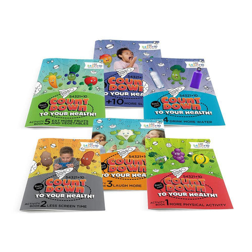 Live 54321+10® Activity Books Classroom Set