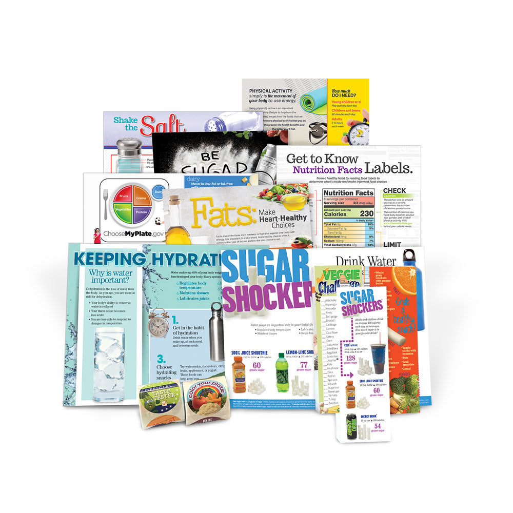 Dietary Guidelines Health Fair Supply Refill Package