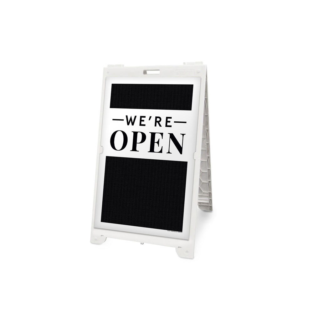 We're Open Signicade