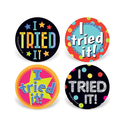 I Tried It! Stickers - Incentives for Kids