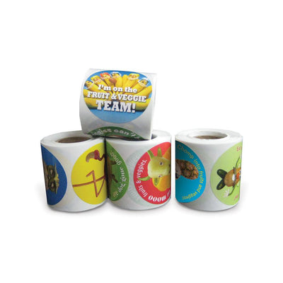 Foodscapes® Sticker Set | 4 Rolls