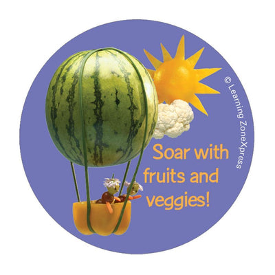 Foodscapes® Fruit & Veggie Stickers