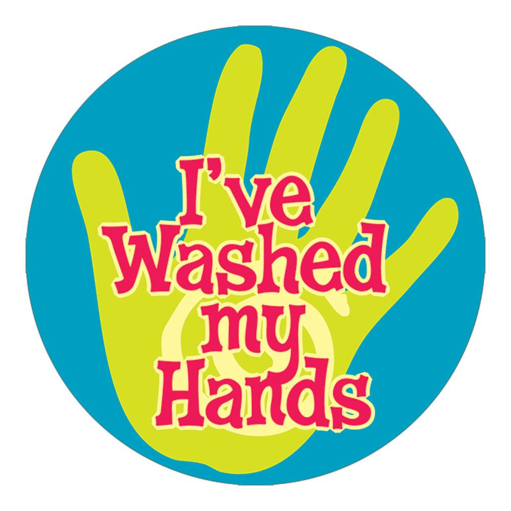 I've Washed My Hands Stickers