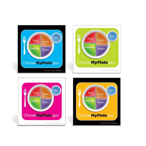 USDA MyPlate Stickers