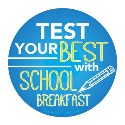 School Breakfast Benefits Stickers