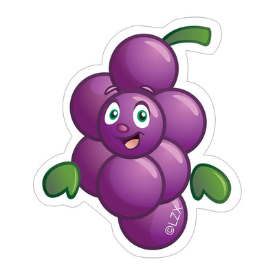 Grape Sticker