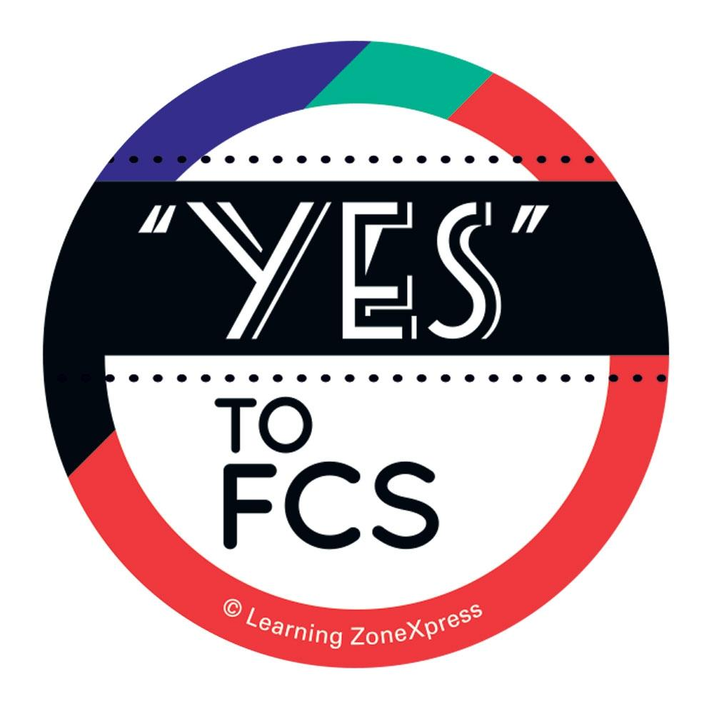 Say Yes to FCS Sticker