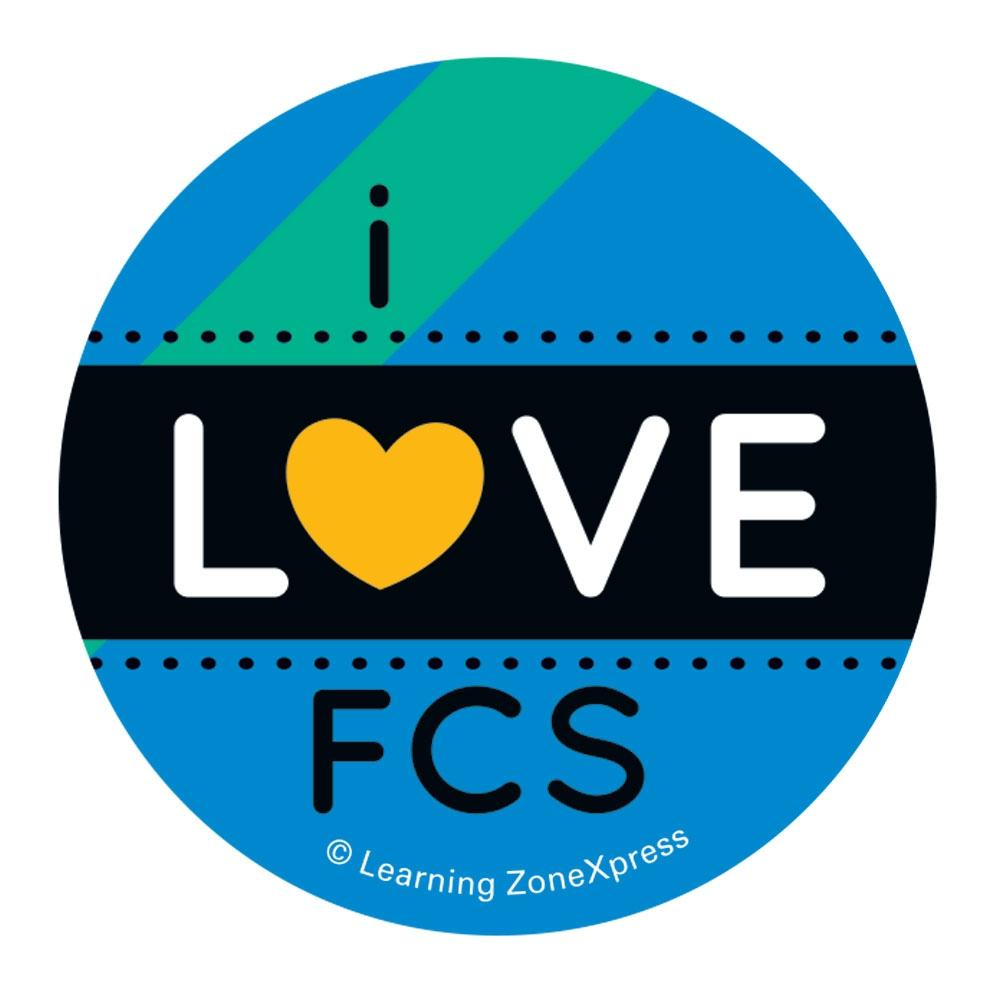 I love FCS Sticker