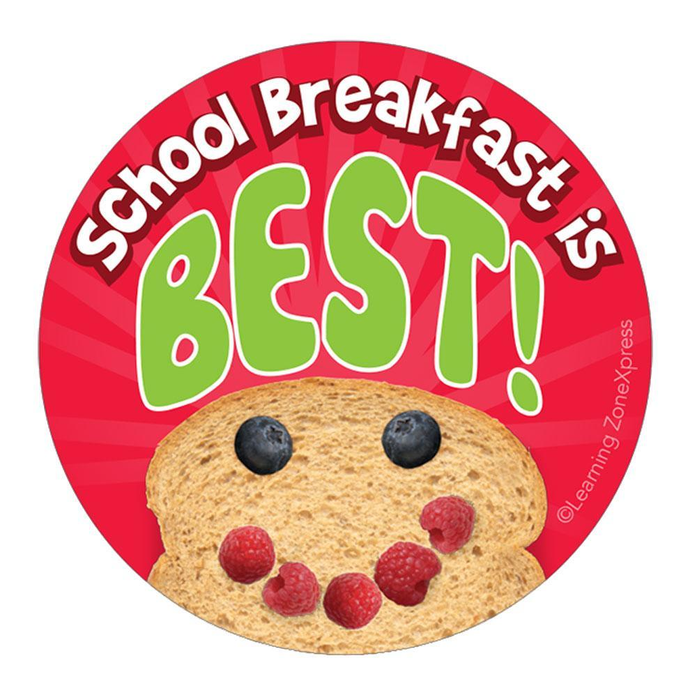 School Breakfast is Best Sticker