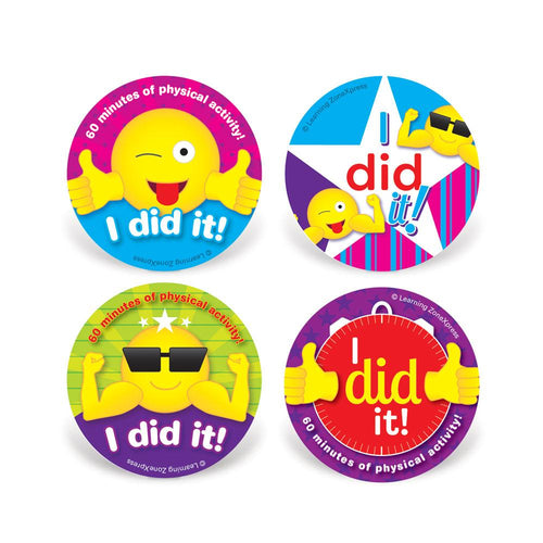 Physical Activity Stickers | Rewards