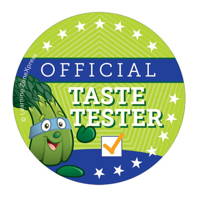 Official Taste Tester Stickers