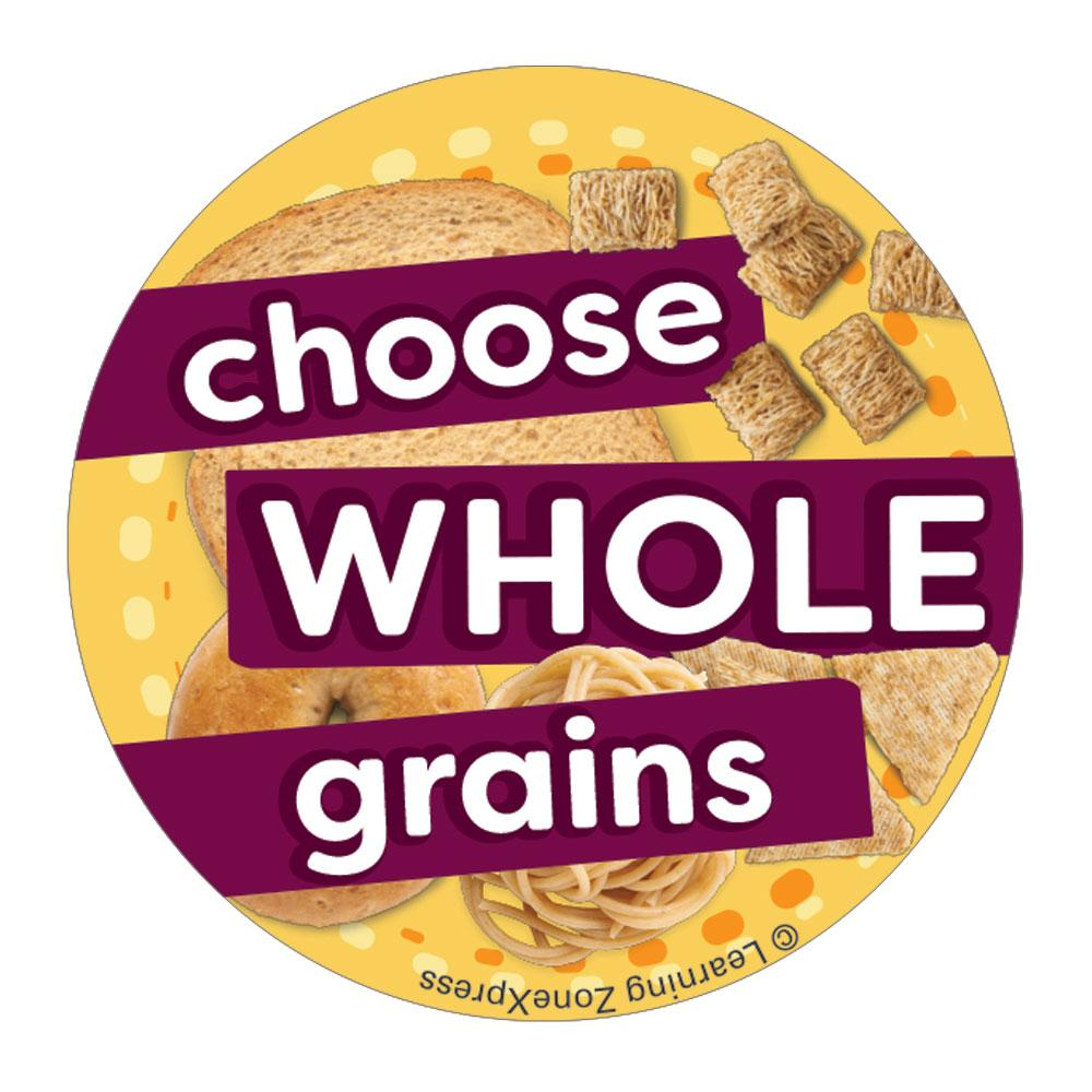 choose whole grains stickers