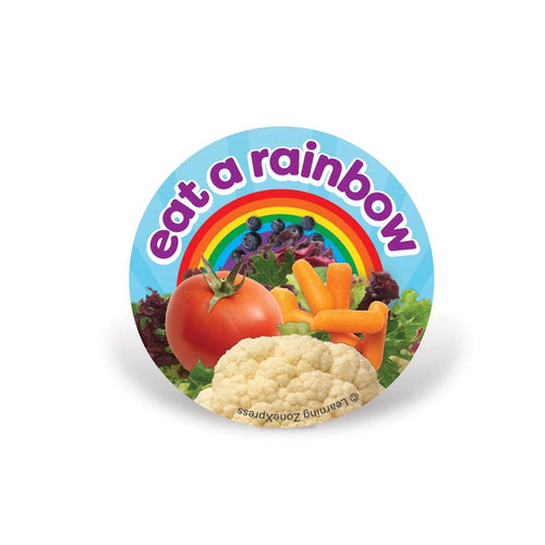 Eat a Rainbow Stickers