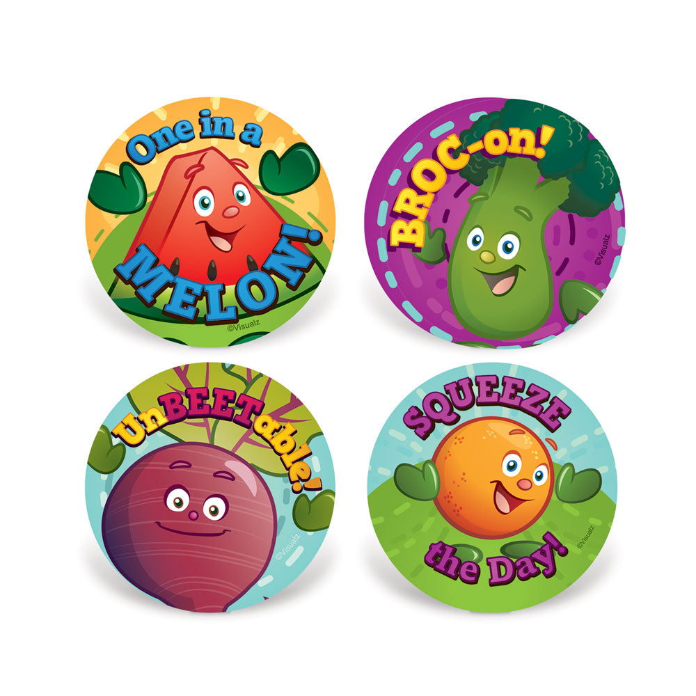 Garden Heroes® Motivational Stickers