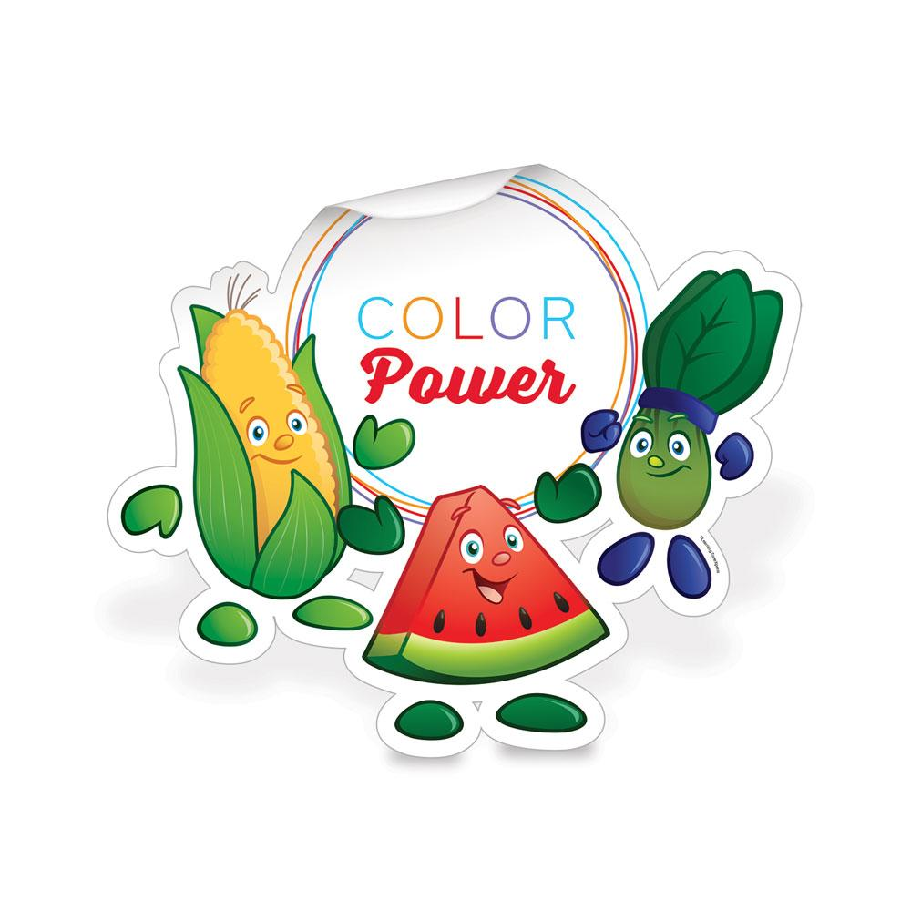 Garden Heroes® Color Power Die-Cut Decal
