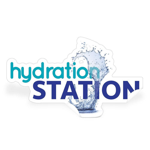 Hydration Station Die-Cut Decal