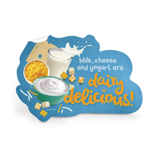 Dairy Food Group Die-Cut Decal