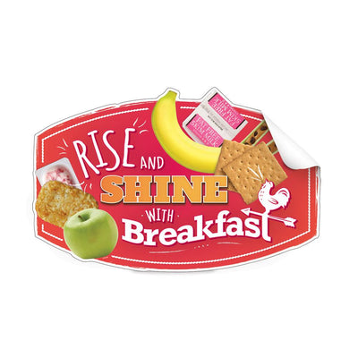Breakfast Die-Cut Decal Set