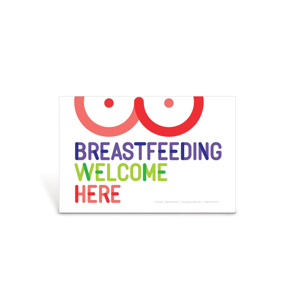 Breastfeeding Welcome Here Decal Set