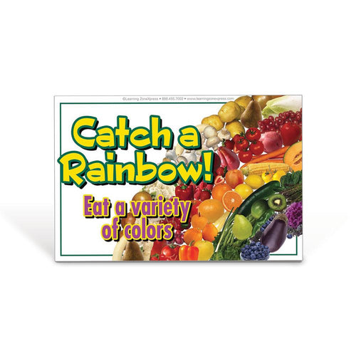 Catch a Rainbow Static Cling