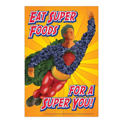 Super Foods Static Cling