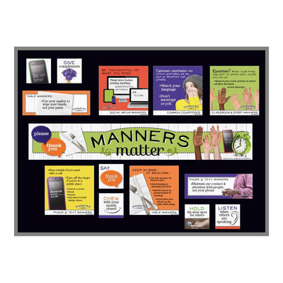 Manners Matter Bulletin Board Kit