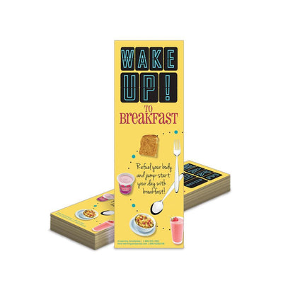 Breakfast Bookmarks