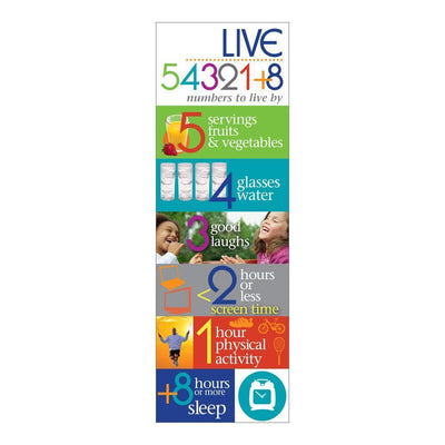 Live 54321+8® Bookmarks