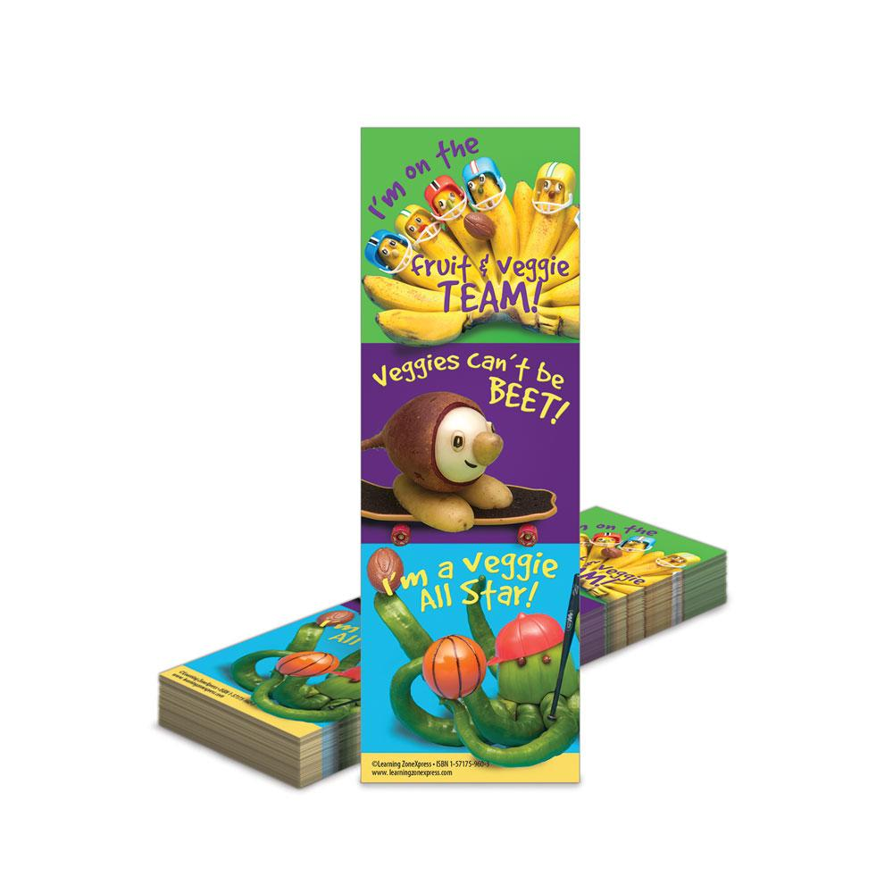Fruit and Veggie Team Bookmarks