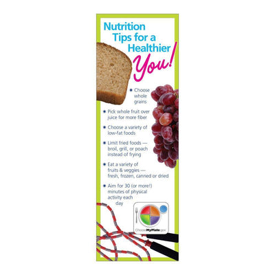 MyPlate Portion Size Bookmarks