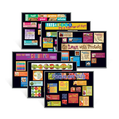 Food Groups Bulletin Board Set of 6