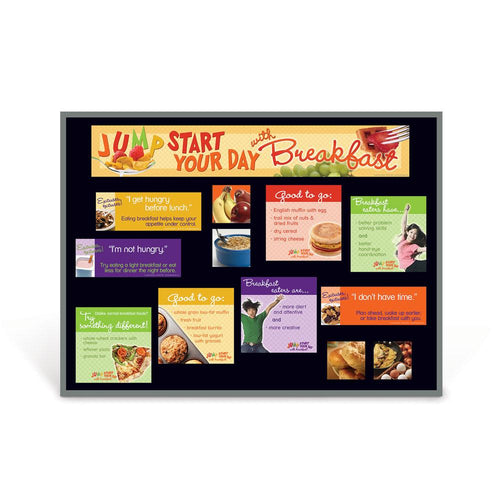 Breakfast Jump Start Bulletin Board Kit