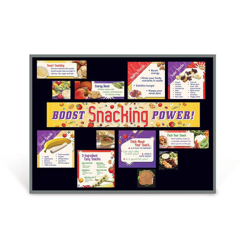 Boost Snacking Power Bulletin Board Kit