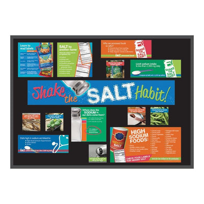 Shake the Salt Habit Bulletin Board Kit