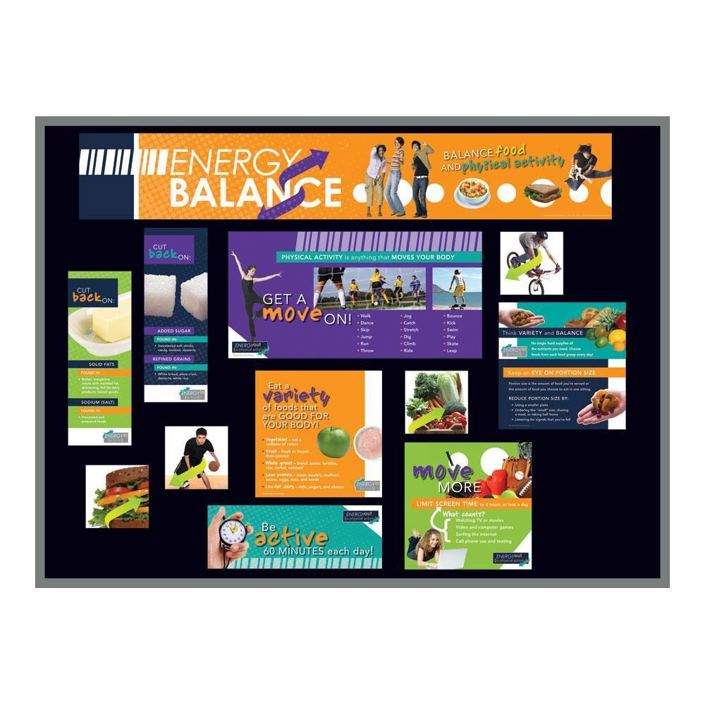 Energy Balance Bulletin Board Kit