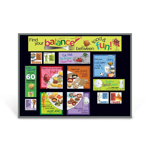 Kids MyPlate Bulletin Board Kit