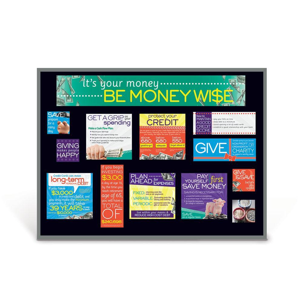 Be Money Wise Bulletin Board Kit
