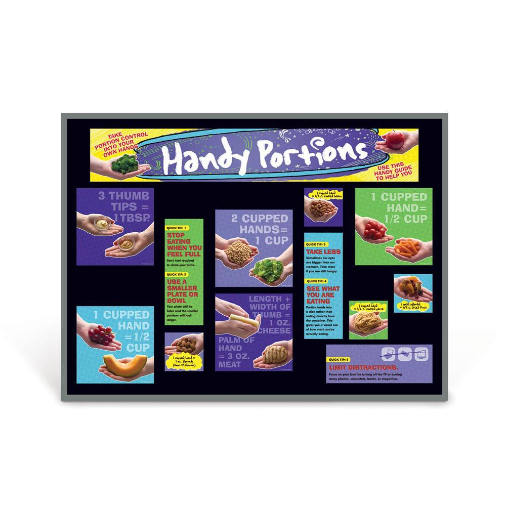 Handy Portions Bulletin Board Kit