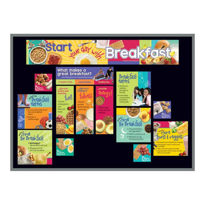 Start Your Day with Breakfast Bulletin Board Kit