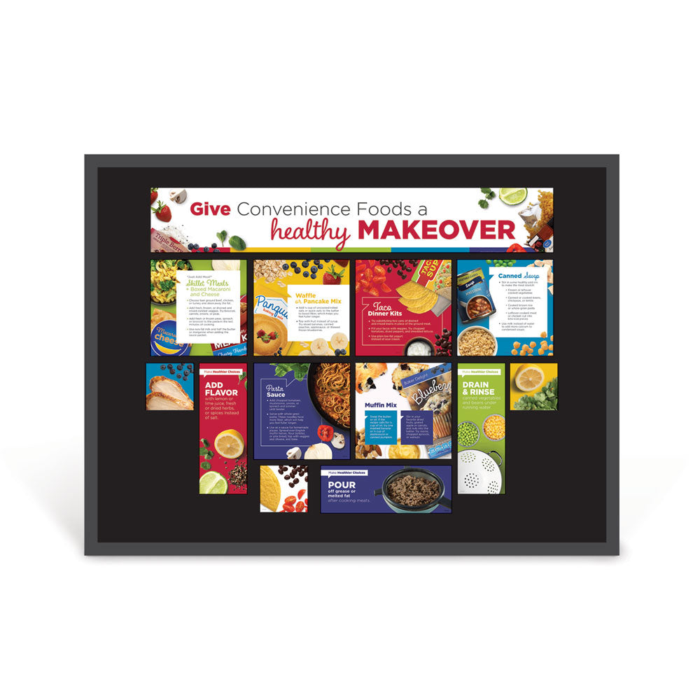 Give Convenience Foods a Healthy Makeover Bulletin Board Kit