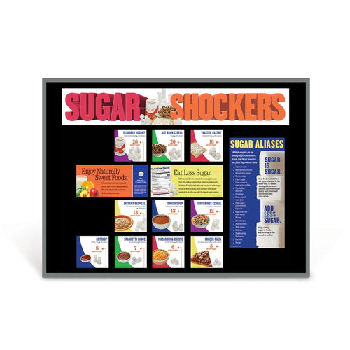 Sugar Shockers® Foods Bulletin Board Kit