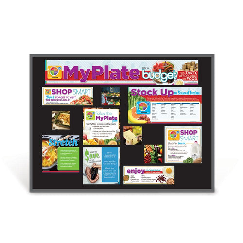 MyPlate on a Budget Bulletin Board Kit