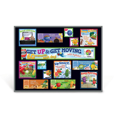 Active Kids MyPlate Bulletin Board Kit