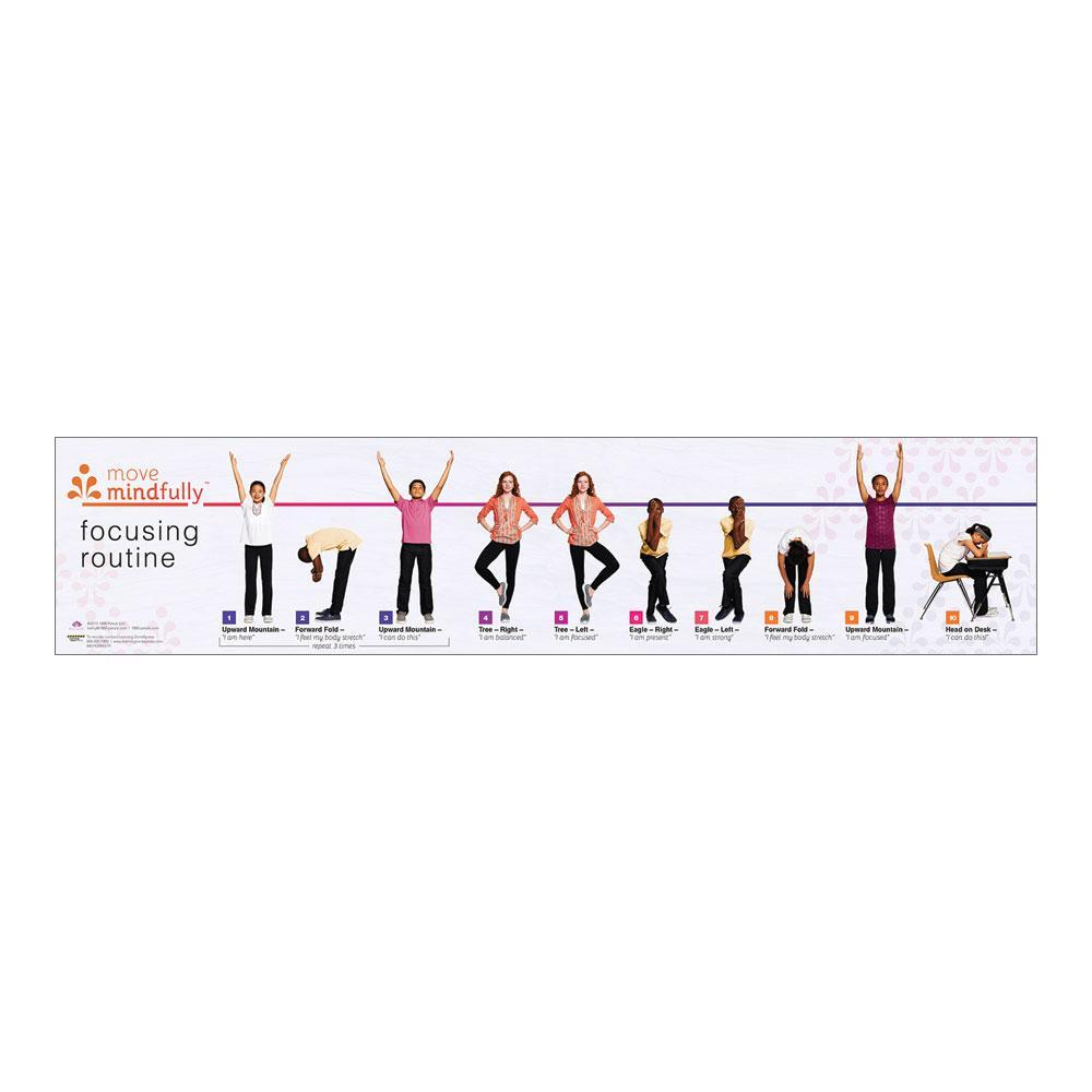 Move Mindfully™ Yoga Sequence Card | Focusing