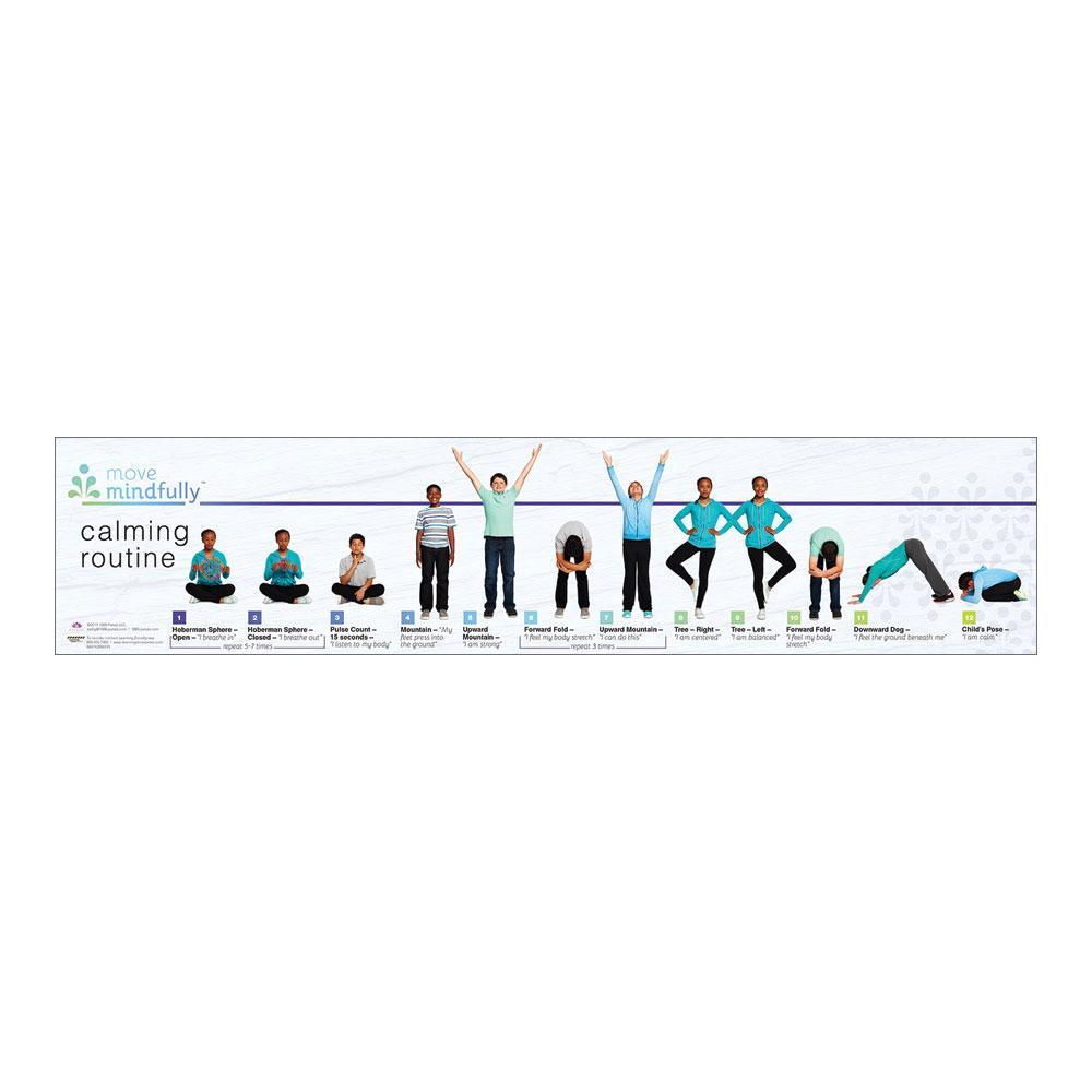 Move Mindfully™ Yoga Sequence Card | Calming
